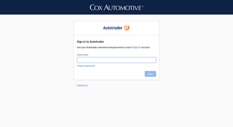Access Dealers Autotrader Com Autotrader Dealer Portal