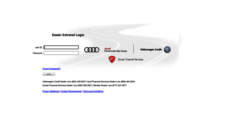 Access Dealers Vwcredit Com Dealer Extranet Login