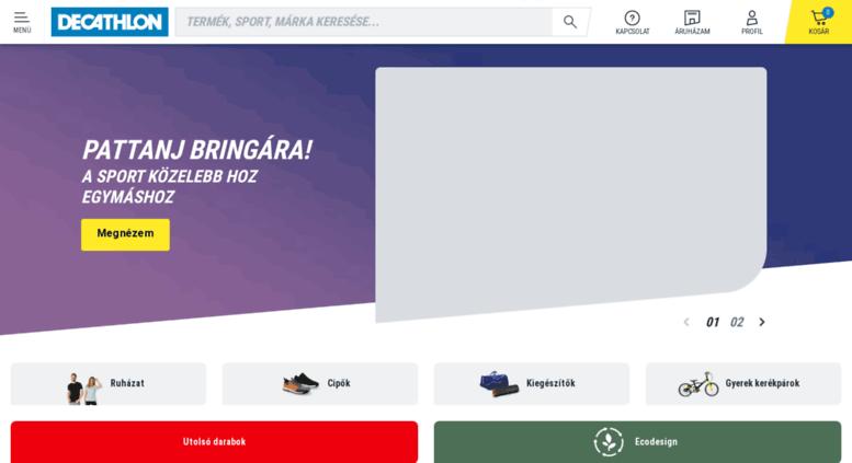 Access decathlon.co.hu. Decathlon Webáruház - Ingyenes áruházi átvétel 1cbd02a4d8