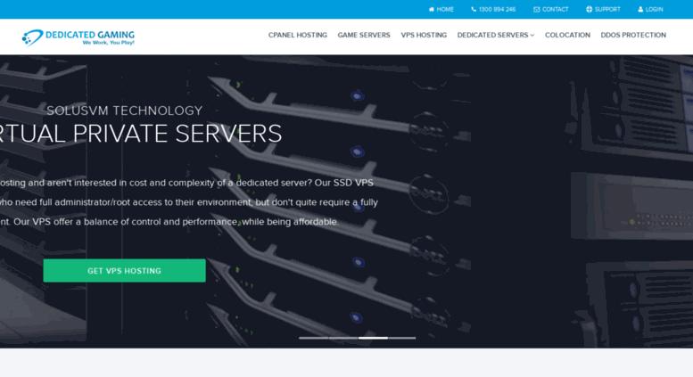 dedicated game server australia