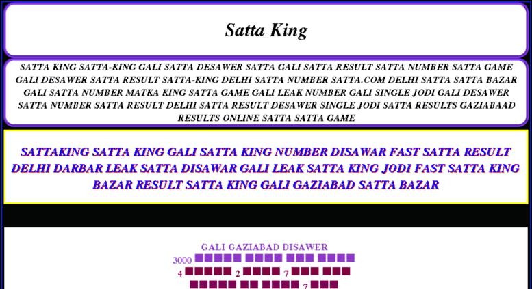 fast satta king