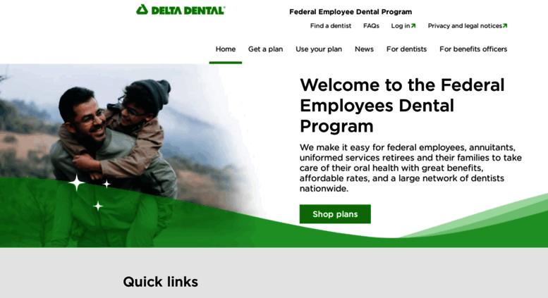 deltadentalfeds org Access deltadentalfeds.org. Federal Employees Dental Program