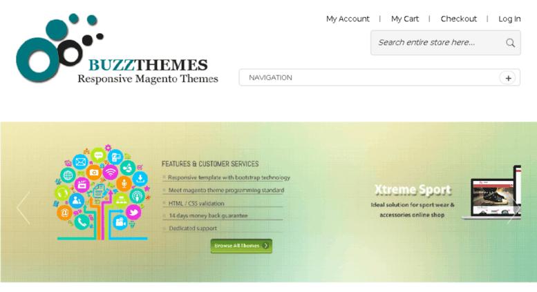 Access Demothemes Responsive Magento Themes Free Magento