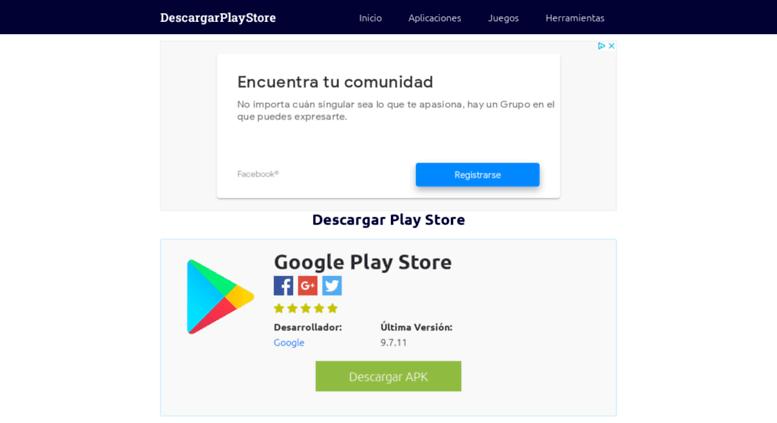 Access descargarplaystore com  ▷ Google Play Store App