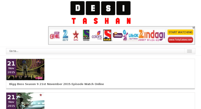 Access desi-tashan tv  Desi Tashan TV Serials, Dramas and