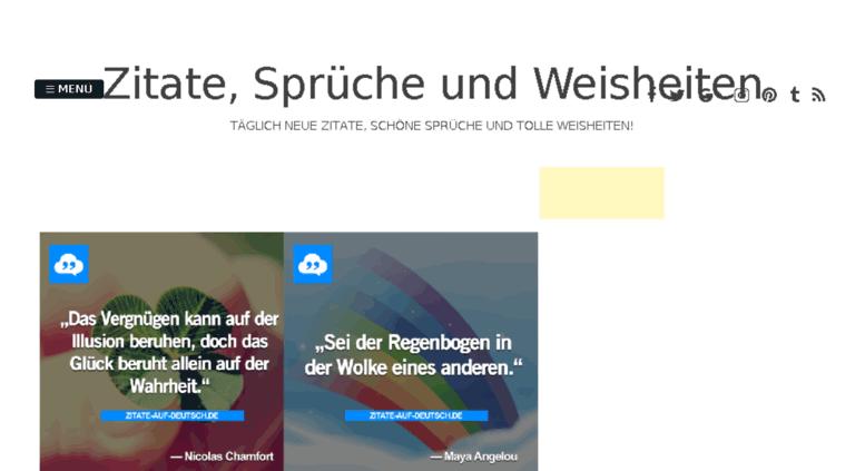 schöne sprüche auf deutsch