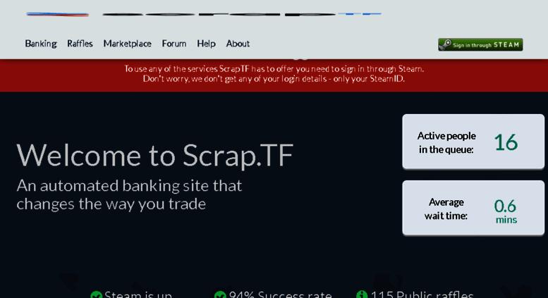 Tf2 scrap bank | Random *NIX (and other) Fixes: robgreen org  2019-03-08