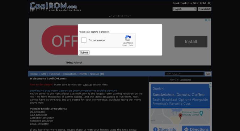 Access Dfw Coolrom Com Coolrom Com Play Retro Games On Your