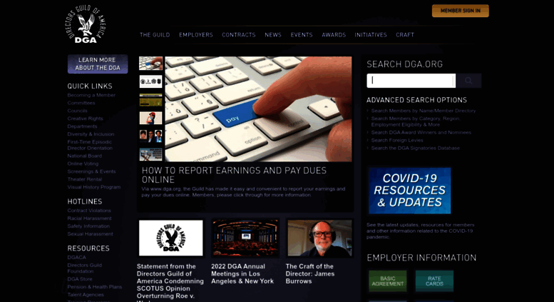 Access Dga Dga Homepage