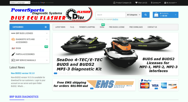 Access diag-systems com  PowerSports Diagnostic Systems and DIUS ECU