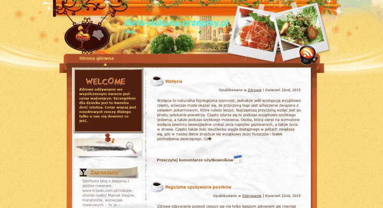 dieta dukana przepisy blog