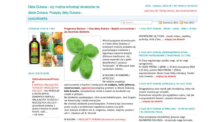 Dukana Diät przepisy faza 1 Blog