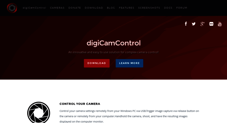 Access digicamcontrol com  Easy to use, free solution for complex