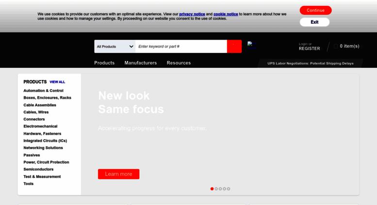 Access digikey co uk  DigiKey Electronics United Kingdom