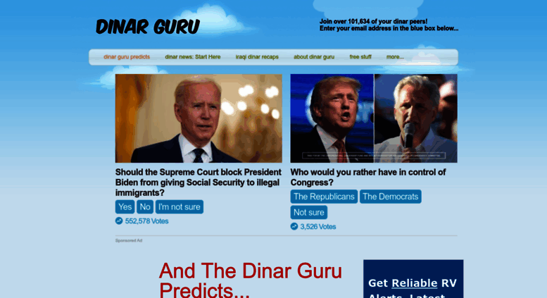 Dinarguru Screenshot