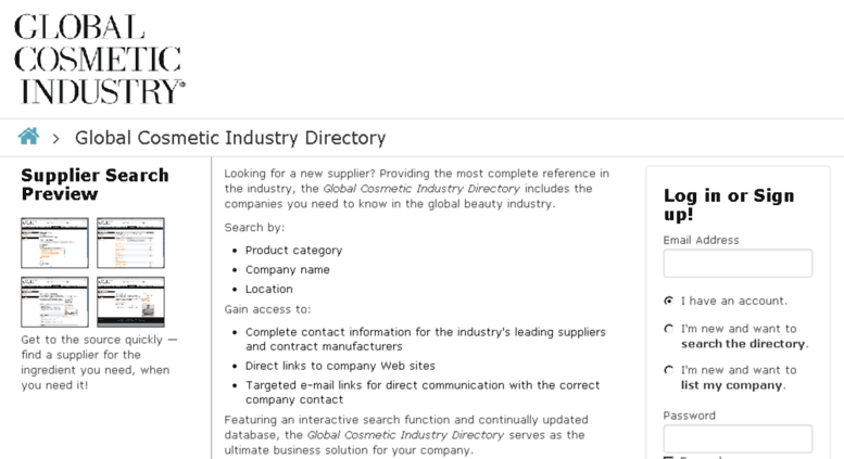 Access dir gcimagazine com  Global Cosmetic Industry