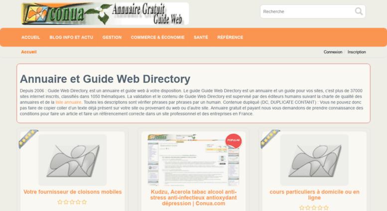 Access Directoryconuacom Annuaire Directoryconua
