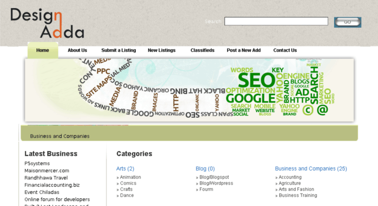Access directory designadda in  Designadda| Online Web