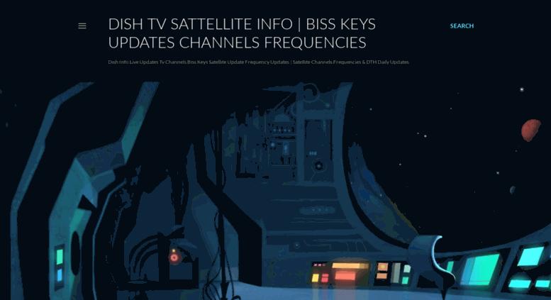 Access dishonline blogspot in  Dish Tv Sattellite Info | Biss Keys