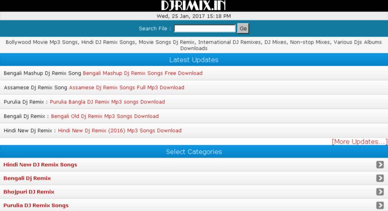 Access djrimix in  Latest DJ Remix Songs Download, Hindi