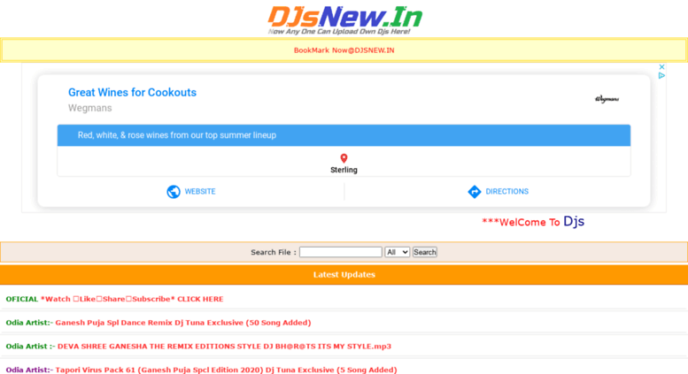 Access djsnew in  DJSNEW IN - Bbsr Dj Song,Odia Dj Remix
