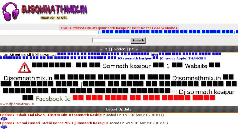 Access djsomnathmix in  DjSomnathmix in :: Djsomnath kasipur
