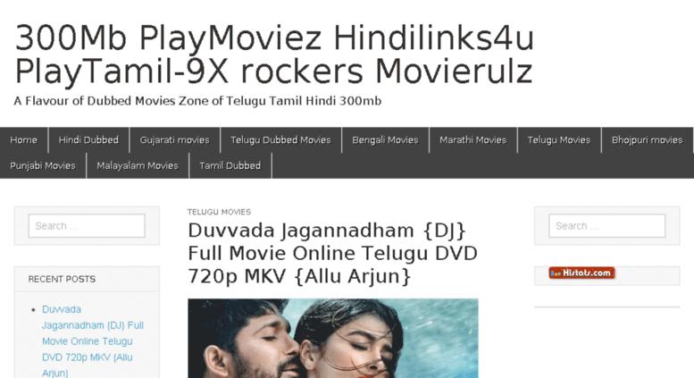 Access dlwpnull in  300Mb PlayMoviez Hindilinks4u PlayTamil