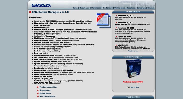 Access dmasoftlab com  Radius, Mikrotik, Cisco, ChilliSpot