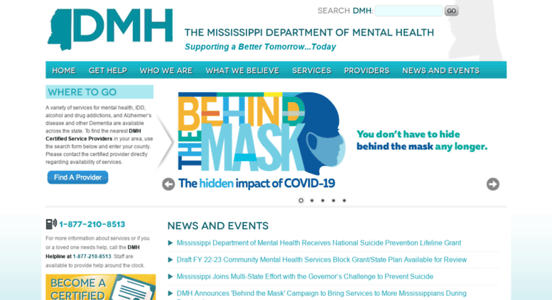 Access Dmh Ms Gov Ms Department Of Mental Health