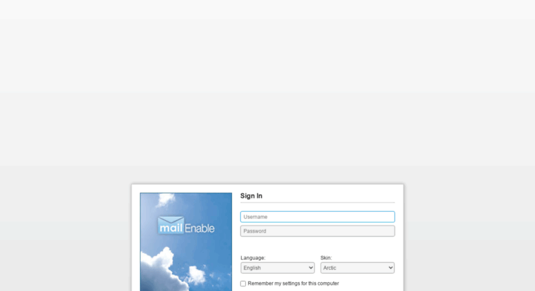 Access dns-mailhost7 ihostnetworks com  MailEnable Web Mail