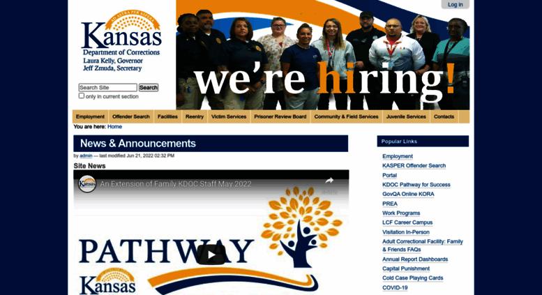 Access doc ks gov  News & Announcements — Kansas Department