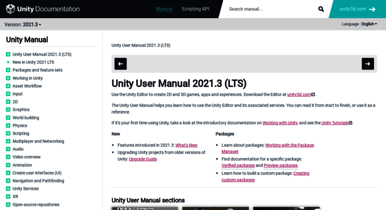 Unity Docs