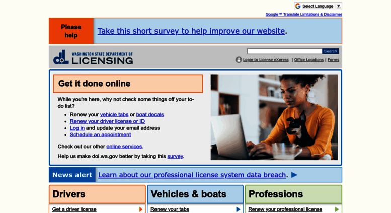 Access dol wa gov  WA State Licensing (DOL) Official Site: Home