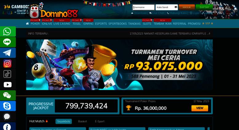 Access Domino88 Asia Home Domino88 Capsa Susun Online Judi Poker Remi Domino Qq Bandar Qq
