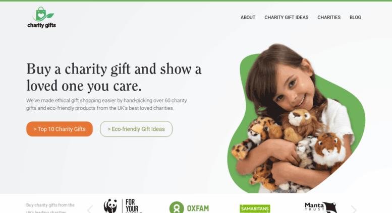 donation4charity.org screenshot