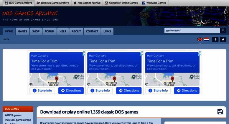 Access dosgamesarchive com  DOS Games Archive: download free