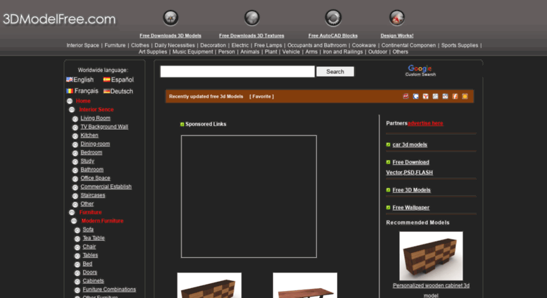 Access down 3dmodelfree com  3D Model Download,Free 3D