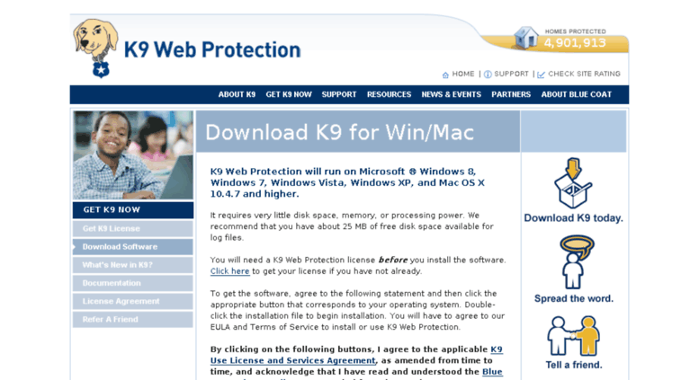 K9 web protection free download.