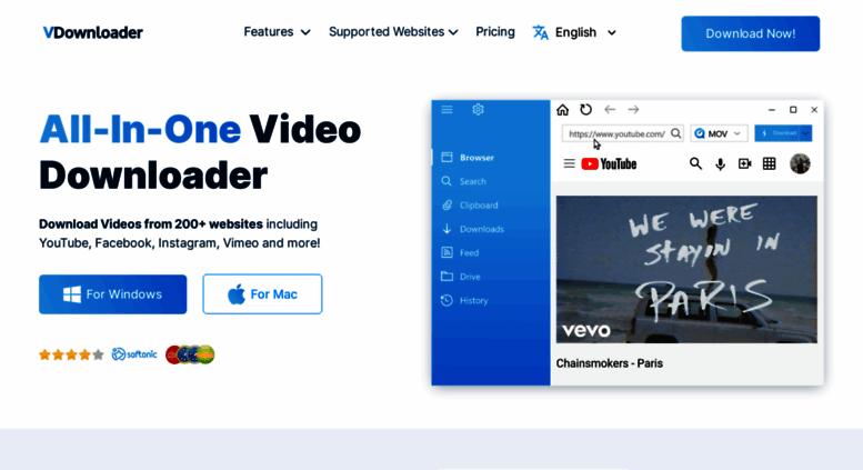Access downloader9 com  VDownloader   Free YouTube