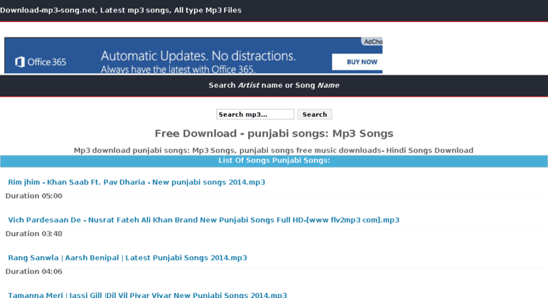 Access downloadfullmp3 in  Download-mp3-song net | Full