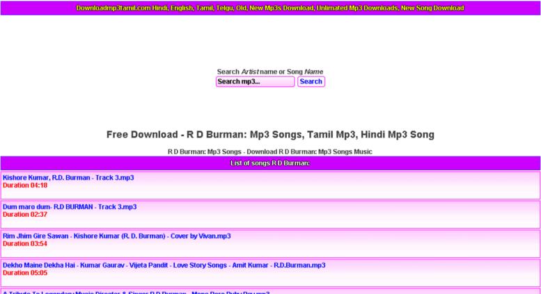 hindi song free download mp3 old