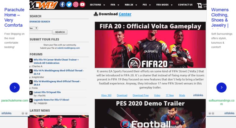 Access downloads moddingway com  ModdingWay - FIFA 19, NBA 2K19, PES