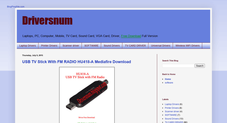 tv tuner card software free download
