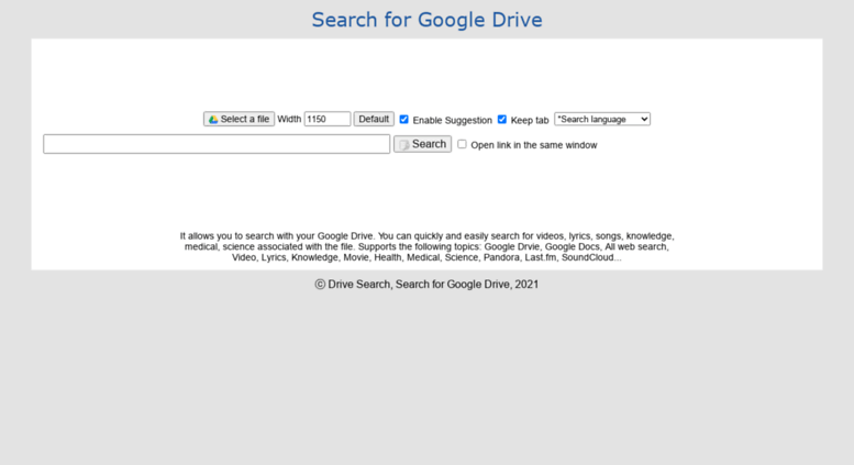 Access drivesearch kwebpia net  Drive Search, Search for Google Drive