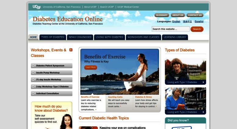 Access dtc ucsf edu  Diabetes Education Online :: Diabetes