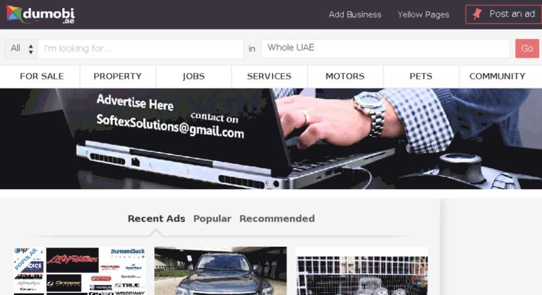 Access dumobi ae  Free classifieds site in Dubai UAE, classified ads