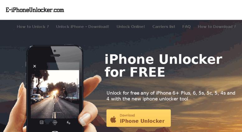 unlock iphone 6 free online
