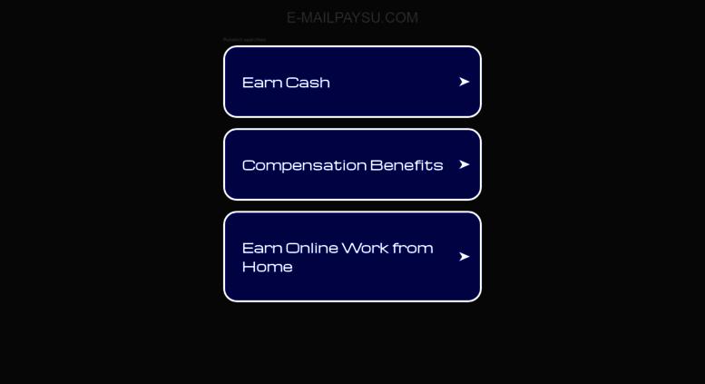 Access e-mailpaysu com  E-mail Pays U - Earn Extra Money for