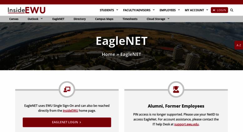 Ewu Financial Aid >> Access Eaglenet Ewu Edu Ewu Eaglenet