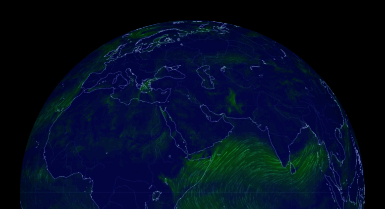 Access Earth Nullschool Net Earth A Global Map Of Wind Weather